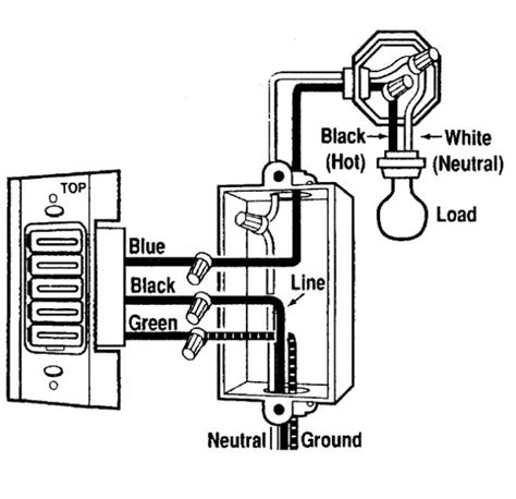 Breaker Switch Wiring Diagram by Timer Switch And Afci Breaker Doityourself Community