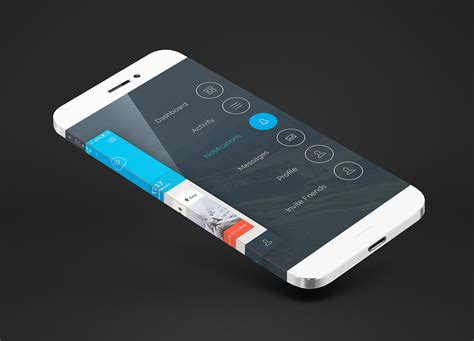 to view downloads on iphone iphone top view mockup free on behance