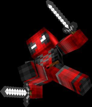 deadpool skins  minecraft pe  android apk