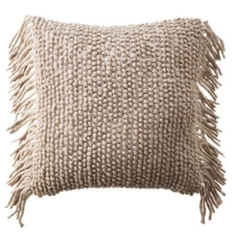 pillows with fringe nate berkus decorative woven pillow with side fringe i target