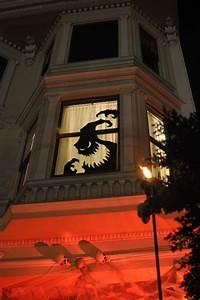 25 Scary DIY Halloween Window Silhouettes Home Design