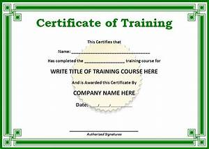 training certificate templates for word on the With hipaa training certificate template