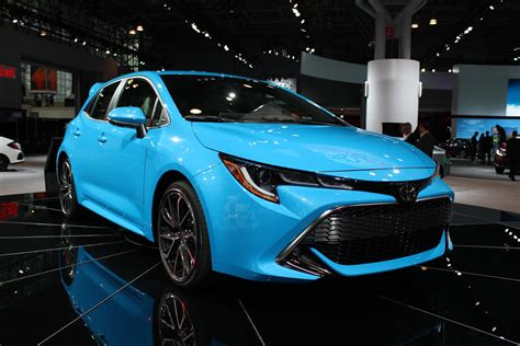 2019 Toyota Corolla Hatchback Gets Tech'd Up For Ny Auto