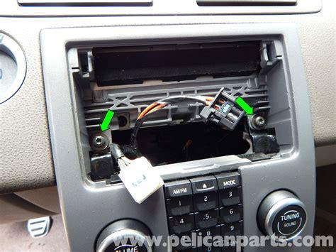 volvo  stereo removal   pelican parts diy