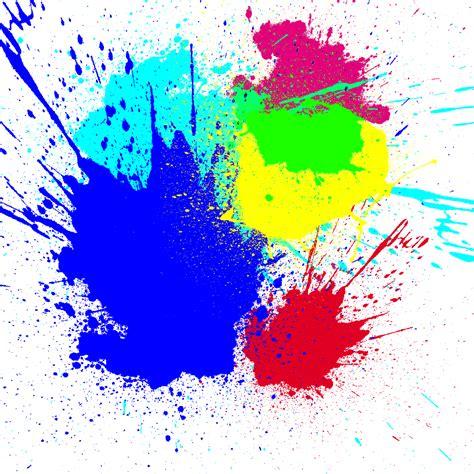 color splatter metee splatter