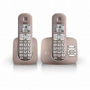 Combiné Téléphone Fixe : philips xl3952 t l phone sans fil philips sur ~ Medecine-chirurgie-esthetiques.com Avis de Voitures