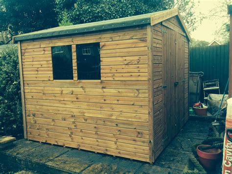 8x8 sheds 8x8 apex tanalised shed easy shed