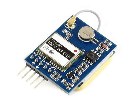 New Uart Serial Gps Module U-blox Neo-6m With High-gain