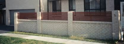 brick fence ideas pics for gt front brick fence designs