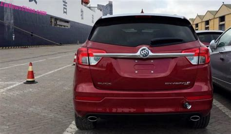 Buick Us by The China Made Buick Envision Suv Is Officially On Its Way