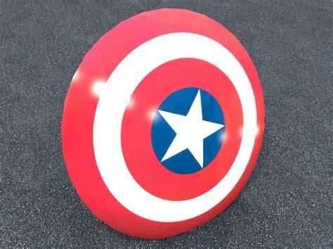 captain america shield 3d