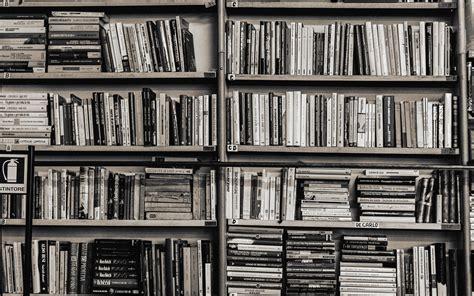 bookshelf wallpaper  desktop wallpapersafari