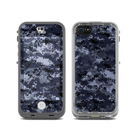 camo lifeproof iphone 5c lifeproof iphone 5c fre skin digital navy camo by
