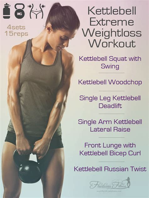 kettlebell workout weight loss extreme workouts fitness exercises female exercise fat kettle swing arm muscle beginners leg weightloss wednesday challenge