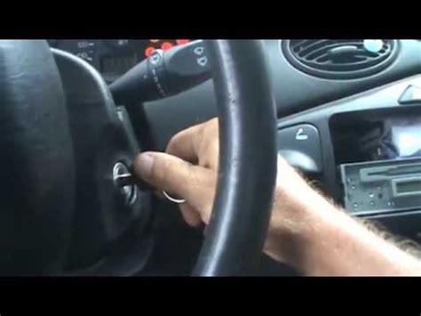 Ford Focus Starter Relay Youtube