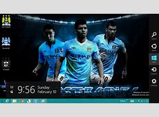 Sebuah Tema Manchester City Windows 8