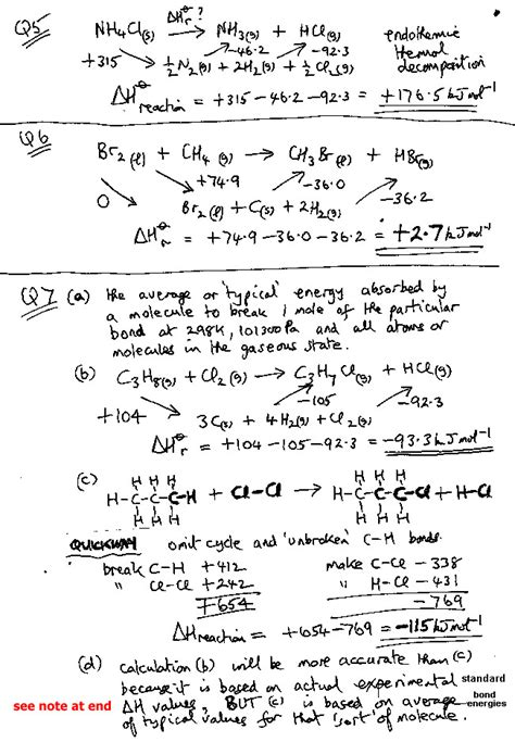 Thermochemistry Worksheet Homeschooldressagecom