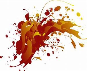 Red Gradient Splatter Clip Art at Clker.com - vector clip ...
