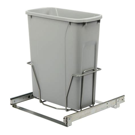 Cabinet Trash Can Home Depot by Real Solutions For Real 17 In H X 14 In W X 16 In