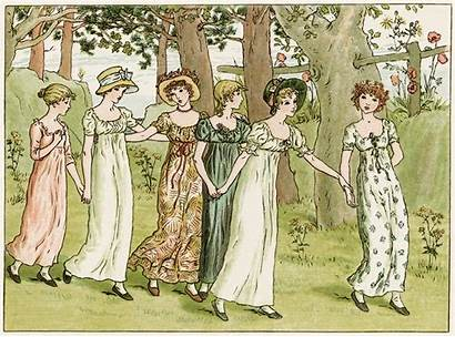 Greenaway Kate Storybook Illustrations Market Illustration 1890s