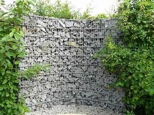 Gabionenzaun Einsatzmglichkeiten Im Modernen Garten