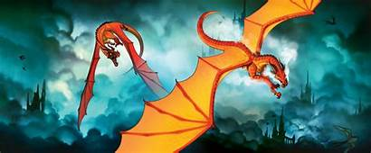 Wings Fire Dragon Peril Dragons Skywing Scarlet
