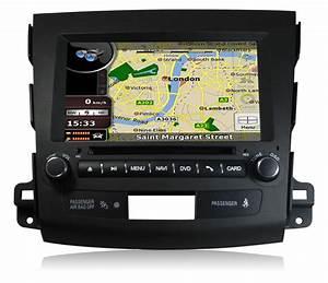 In-Dash Car GPS Navigation System for Mitsubishi Outlander ...