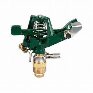 Orbit 1  2 In  Zinc Impact Sprinkler Head-55015