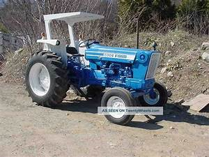 Ford 6600 Tractor Data