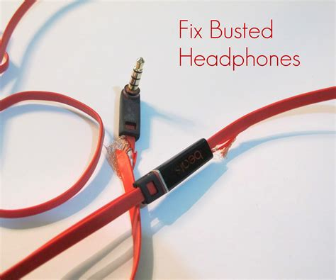 Earphone Wiring Diagram by How To Repair Busted Headphones 8 Steps With Pictures