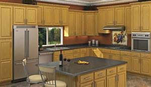 Honey Oak - Kitchen Cabinet Depot