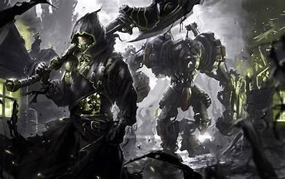 Mech Battle Sci Fi Backgrounds Wallpapertag