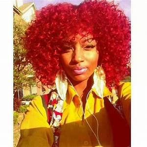 Best 25+ Bright red afro hair ideas on Pinterest | Afro ...