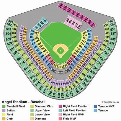 Angels Stadium Los Angeles Seating Chart Tickets