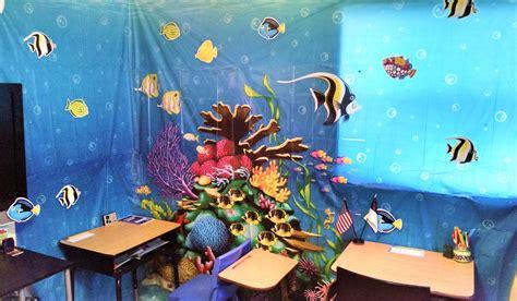 Under The Sea Classroom Theme  New Life Overnight