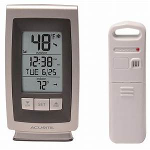 Acurite Digital Indoor    Outdoor Thermometer With Intelli