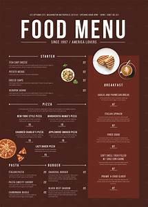 Modern Food Menu by tokosatsu GraphicRiver