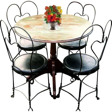 vintage early 1900 s bistro set country cafe