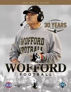 2017 Wofford Football Media Guide by Wofford Athletics - Issuu