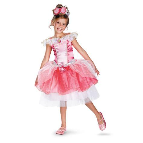 kids aurora disney princess girls costume