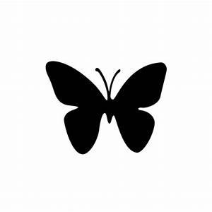 Simple Butterfly Stencil