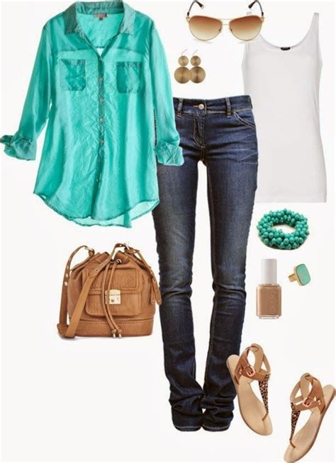Barksdale Blessings Spring Fashion Inspiration ~The loose blouse and jeans is an easy go-to ...