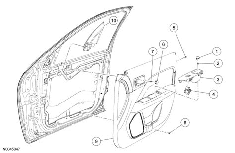 Ford Focus Door Handle Parts Diagram Auto