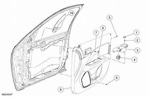 2007 Ford Focus Door Handle Parts Diagram  Ford  Auto Wiring Diagram