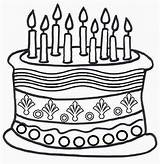Coloring Cake Birthday Colouring Printable Colour Drawing Cakes Clipart Clip Sheets Cliparts Happy Candles Printables Popular Library Coloringhome Favorites sketch template
