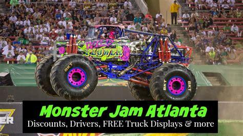 monster truck jam coupons free truck displays announced for monster jam atlanta