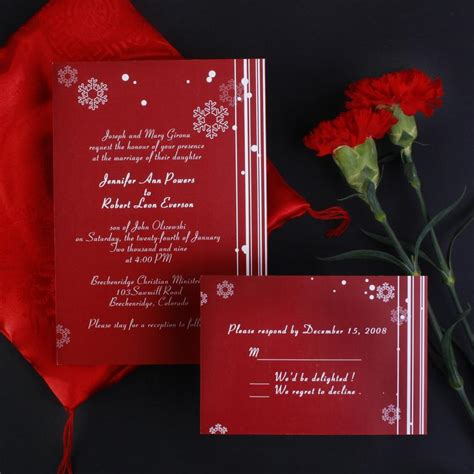inexpensive wedding invitations cheap snowflake wedding invites ewi005 as low as 0 94