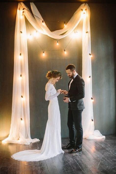 trending wedding lighting ideas  edison bulbs