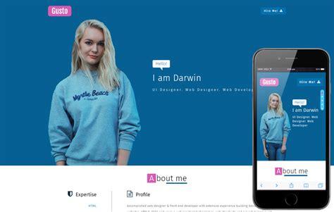 Personal Website Templates Personal Website