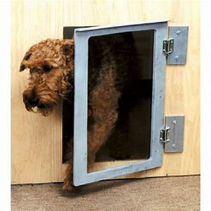 Pickwick kennel dog doors mason company petdoorscom for Dog doors for sale